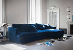 Barret Sectional Sofa-love this color