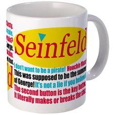 Seinfeld Quotes Logo Mug on CafePress.com