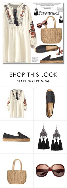 """""""Espadrilles"""" by paculi ❤ liked on Polyvore featuring espadrilles"""