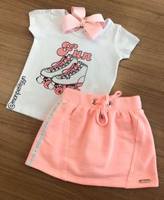 Surfer Girl Outfits, Cute Baby Girl Outfits, Cute Outfits For Kids, Baby Outfits Newborn, Baby Girl Dresses, Baby Dress, Girl Fashion Style, Teen Fashion Outfits, Cute Fashion