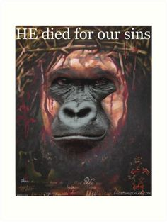 Harambe Jesus- HE died for our sins!