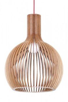 GUARIN - Timber Veneer pendant $328