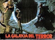 LA GALAXIA DEL TERROR FOTOCROMO ORIGINAL DEL ESTRENO DE LA PELICULA LOBBY CARDS