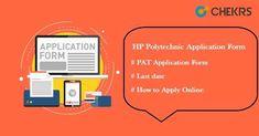 HP Polytechnic 2019 Application Form #hp #polytechnic #applicationform #chekrs #edtech #edchat #learning #education #ukedchat