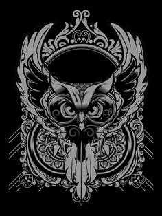 Enlighten Owl    Designed by Hydro74