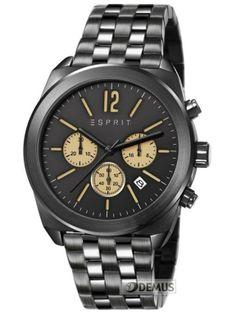 #Zegarek #Esprit Dylan Chrono Midnight ES107571005 \ Zegarki Esprit \ Zegarki męskie \ sklep :: DEMUS.pl