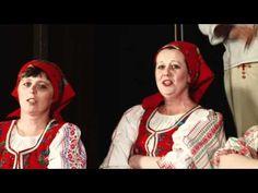 Folklórny súbor Bukovinka z Braväcova: Nedobre je v nízkej chyži... - YouTube