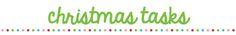 Organised Christmas 2013 – Day 1
