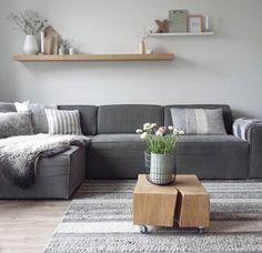 Dorien xxdorienhome instagram woonkamer grijze bank en vloerkleed ...