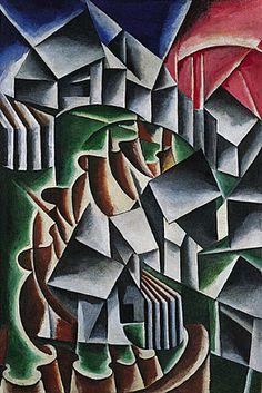 'Birsk' (1916) by Liubov Popova