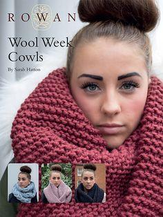 Ravelry: Wool Week Cowls pattern by Sarah Hatton