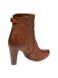 Marissa Zip Leather Bootie from Boots & Booties: From $60 on Gilt