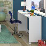 Mesa para notebook Play Branco Acetinado - Henn | Lojas KD