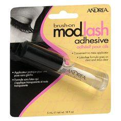 Andrea Modlash Brush-On Adhesive for False Eyelashes Clear  Fave lash glue!