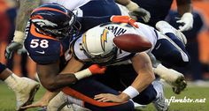 Report: Broncos to open 2017 season vs. Chargers on Monday Night Football Denver Broncos Game, Broncos Games, Broncos Vs, Chargers Vs Broncos, Monday Night Football, San Diego Chargers, Espn, Football Helmets, Nfl