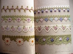Beautiful Crochet Edgings
