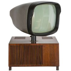 """Rare """"17/18"""" Television by Berizzi, Butté, Montagni for Phonola 