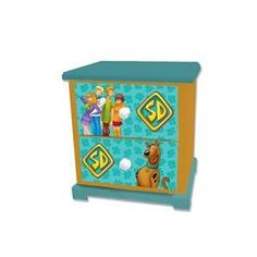 Warner Brothers 99026 Scooby-Doo Paws Kids Nightstand