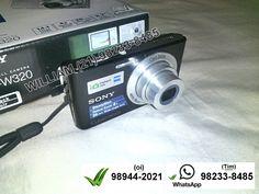 A Sony não é líder em câmeras digitais por acaso. Além de oferecer produtos com qualidade de imagem, ela garante muitos recursos exclusivos da marca. Ideal para quem procura por um aparelho com uma das melhores resoluções disponíveis no mercado, a Sony DSC-W320 é uma boa escolha. Obtenha os melhores resultados em fotografias sem precisar ser especialista. E-mail  williammf.1000@gmail.com  / Celular Tim (21) 98233-8485