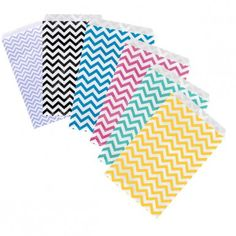 SKU: , Paper Gift ag x Multiple colors. Pack,Sold in Packages of 100 pcs Paper Gift Bags, Paper Gifts, Chevron Paper, Fun Prints, Pattern Paper, Pattern Making, Jewelry Shop, Print Patterns, Jewelry Pouches