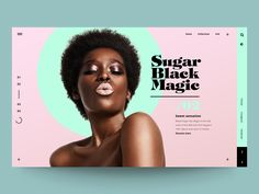 "Daily UI ""Sugar Black magic"""