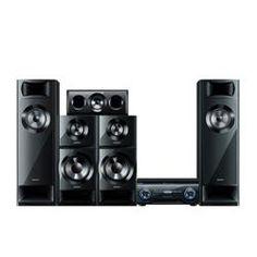 Home Theater 3D Sony HT-M3 Preto com receiver 5.2 - 1200 W RMS, Entrada USB/SD