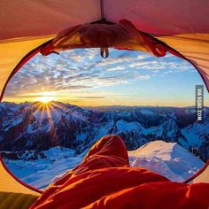Who else would love to wake up with this view?