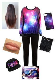 """""""Untitled #45"""" by neca-xoxo ❤ liked on Polyvore featuring New Look and Converse"""