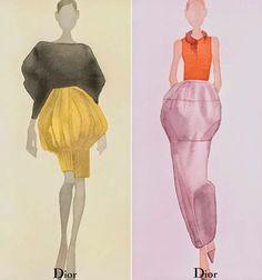The Fashion Illustrator: Dior: Mats Gustafson
