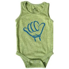 Hang Loose Tank One-piece, Heather Lime