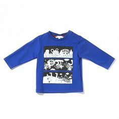 Little Marc Jacobs long sleeves T shirt http://www.littlefashiongallery.com/fr/mode-enfant/little-marc-jacobs/tee-shirt-encre-blue-nearly-black-h13/