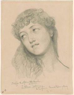 Sir Lawrence Alma-Tadema   Study for the Offering to Bacchus   Drawings Online   The Morgan Library & Museum