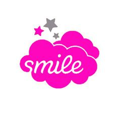 Nuage smile étoile bébé cadeau forme flex thermocollant customisation vêtement tissu pas si godiche !
