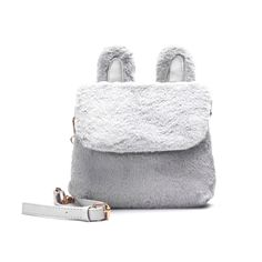 Lovely Rabbit Ears Design Plush Cross Body Bag. Women s HandbagsLuxury ... ed150d7961
