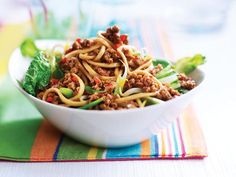 Quorn Singapore Noodles Recipe   Main Courses, Vegetarian Recipes   Kitchen Goddess
