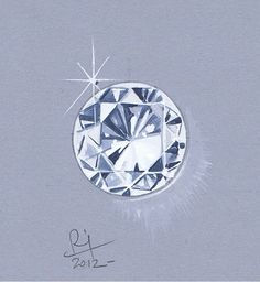 Remy Design - Teaching | Diamond Sketch Drawing Rendering | Jewelry Sketches
