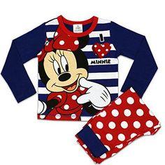 Disney Minnie Mouse Schlafanzug | Mädchen Minnie Mouse Pajamas| 6 bis 7 Jahre #nightwear #covetme #characterde