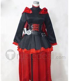 RWBY Ruby Rose Full Set Cosplay Costume