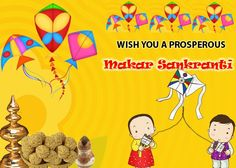 Happy #MakarSankranti, harvest festival of india. Wishes for peace and prosperity of the people.