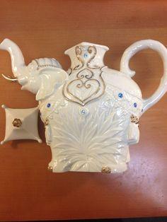 Lenox Jeweled Elephant Teapot | eBay