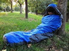 Don't sleep with your face buried under the covers/sleeping bag. The moisture from your breath will cancel out the insulating properties of your sleeping gear. |  Winter Camping Hacks