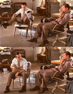 Inception: I love love love the chemistry between these two. This scene always gets me.