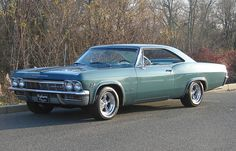 1965 Chevrolet Impala SS 327 4 barrel/300 hp with automatic transmission. Willow green/green interior.
