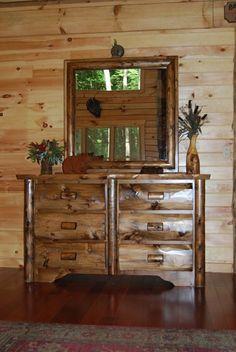 Custom Made Bedroom Dressers by Briar Hill Rustic Furniture