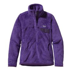 Patagonia Women's Re-Tool Snap-T® Fleece Pullover - Violetti - Tempest Purple X-Dye (VTPX-027)
