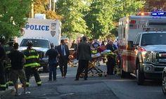 Hombre se atrinchera en casa de NY, prende fuego y dispara a bombero
