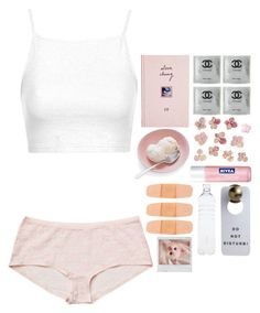38% by fabloux on Polyvore featuring art, Chanel, pale, princess and pastel