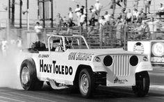 Holy Toledo Jeep drag car   Vintage Drag Racing