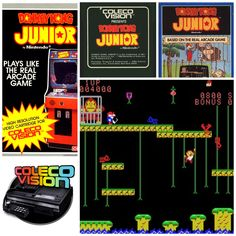 Donkey Kong Jr. (ColecoVision) 1982.