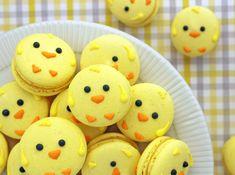 Macarons zu Ostern backen mit Kindern